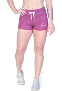Shorts Shatark Cross Bar - Vinho
