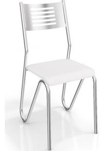 Conjunto 2 Cadeiras Kappesberg Crome Nápoles Ii Branco
