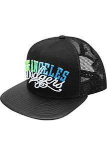 Boné New Era Mbl Los Angeles Dodgers Aba Reta 950 Of Sn Under Colors -  Unissex b86093f8962