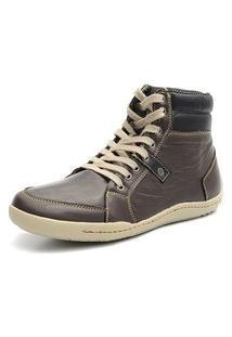 Bota Casual Masculina Shoes Grand 801/1 Cafe/ Preto