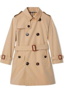 Burberry Kids Trench Coat - Neutro