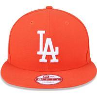 Boné New Era 950 Los Angeles Dodgers Aba Reta Laranja 67d338bc278