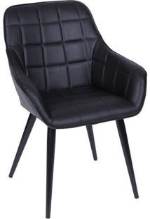Cadeira Provence- Preta- 84X60X40,5Cm- Or Designor Design