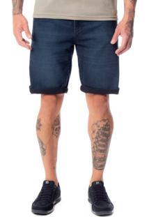 Bermuda Jeans Masculina Max Denim Azul - 48