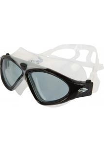 Óculos De Natação Mormaii Orbit - Adulto - Cinza Cla/Azul