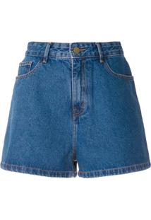Framed Short Jeans Lola - Azul
