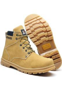 Bota Masculina Adventure Snap Shoes - Masculino-Amarelo