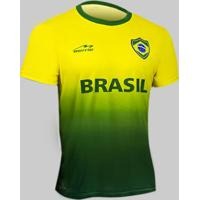 1687644f50 Camisa Degradê Torcida Do Brasil Beme Masculina - Masculino