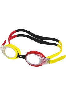 Óculos De Natação Infantil Speedo Quick Junior Vermelho Cristal Com 1 Unidade