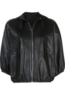 Red Valentino Hooded Jacket - Preto