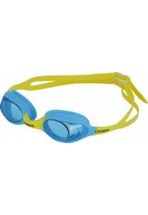 Óculos De Natação Oxer Colors G-2402 - Infantil - Amarelo/Azul Claro