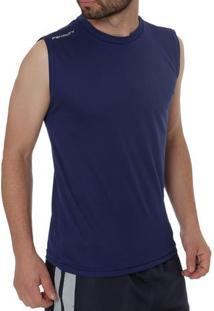Camiseta Regata Running Masculina Penalty Azul Marinho