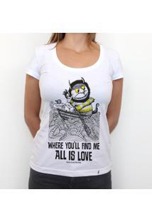 All Is Love - Camiseta Clássica Feminina