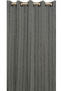 Cortina Brillance Para Varão Preta (180X300)