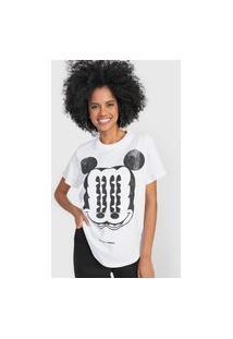 Camiseta Colcci Mickey Always Branca