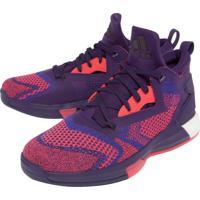 Dafiti. Tênis Adidas Performance D Lilard 2 Boost Primekni Roxo Coral ef906d7e41c8a