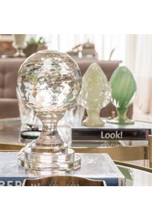 Esfera De Vidro Decorativa Orb