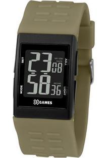 Relógio Digital Quartz Xgppd120Pxex- Preto & Verde Militorient
