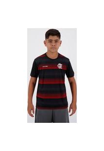 Camisa Flamengo Cup Infantil Preta