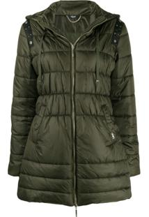 Liu Jo Studded Detail Padded Jacket - Verde