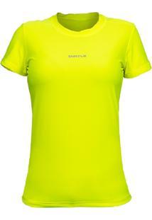Camiseta Curto Active Fresh Mc – Amarelo Gg - Kanui