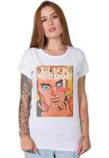 Camiseta Stoned Black Mirror Feminina - Feminino