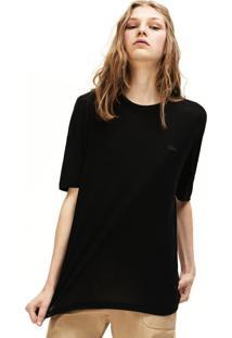 Camiseta Lacoste Preto