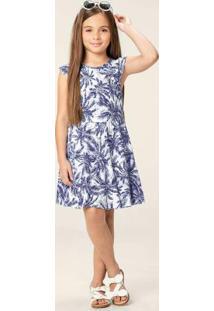Vestido Azul Escuro Detalhe Costas