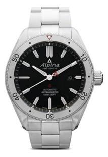 Alpina Relógio Alpiner 4 Automatic 44Mm - Black