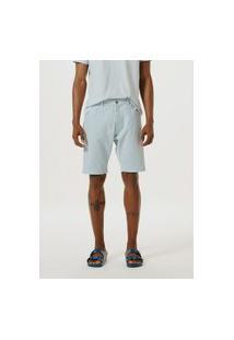 Bermuda Masculina Em Sarja Com Elastano
