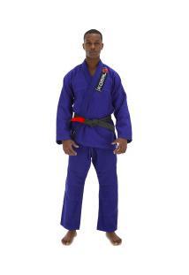 Kimono Jiu-Jitsu Koral One - Adulto - Azul