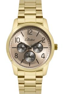 Relógio Analógico Condor Feminino - Co6P29Ii4J Dourado
