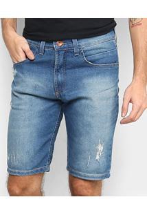 Bermuda Jeans Hd 5302A Masculina - Masculino-Azul