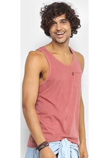 Regata Redley Com Bolso Masculina - Masculino-Vermelho Claro 1f25b49137c