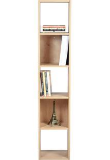 Estante Para Livros Torre 4 Prateleiras 1500 Madeirada - Falkk