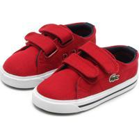39c03c409ec Dafiti. Tênis Lacoste Footwear Vermelho