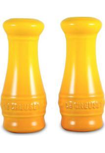 Saleiro E Pimenteiro Novo Amarelo Dijon Le Creuset