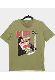 Camiseta Cantão Boyfriend Polaroid Feminina - Feminino