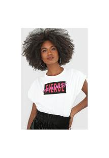 Camiseta Forum Feminist Off-White