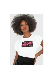 Camiseta Forum Feminist Off-White