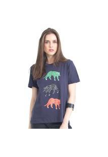 Camiseta Tri Cheetah 41Onze Marinho