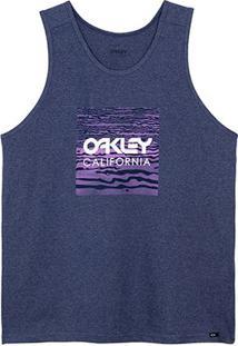 Regata Oakley Frog Masculina - Masculino-Azul