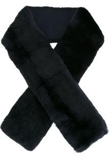 N.Peal Cachecol De Cashmere Longo - Azul