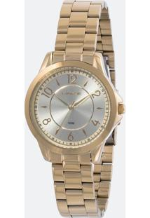 Kit Relógio Feminino Lince Lrg4504L Ku49C2Kx Analógico 3Atm + Pulseira