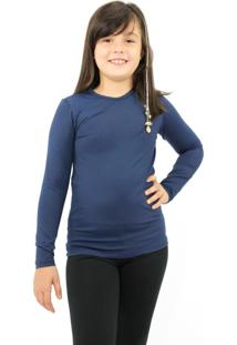 Camiseta Térmica Question Sport Azul Marinho
