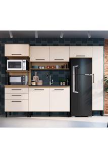 Cozinha Compacta Rubia 7 Pt 3 Gv Brunne E Off White