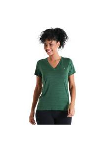 Camiseta Gola V Energy - Verde - Líquido