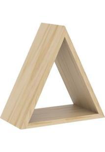 Nicho Triângulo Decorativo Natural - Casatema