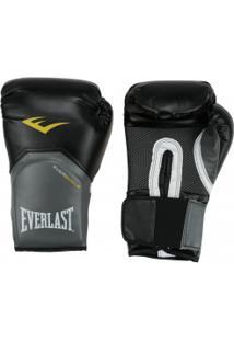 Luvas De Boxe Everlast Pro Style Elite 14 Oz - Preto