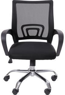 Cadeira De Escritório Tok Preta